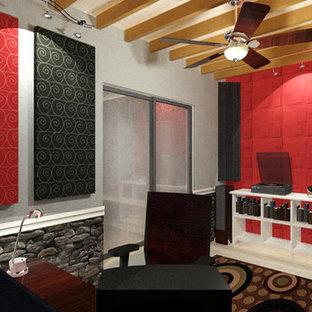 Modernes Arbeitszimmer in Tampa
