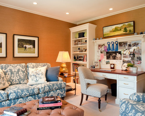 Brilliant Best Home Office Living Room Design Ideas Remodel Pictures Houzz Largest Home Design Picture Inspirations Pitcheantrous