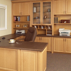 Modern Home Office by Tailored Living Featuring Premier Garage