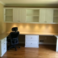 Traditional Home Office by Tailored Living feat PremierGarage of Northern VA