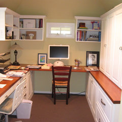 traditional home office by The Closet Guy Inc