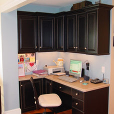 Traditional Home Office by Trade Mark Design & Build