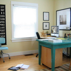 Eclectic Home Office by Transit Design