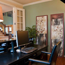 Traditional Home Office by True Interiors, LLC