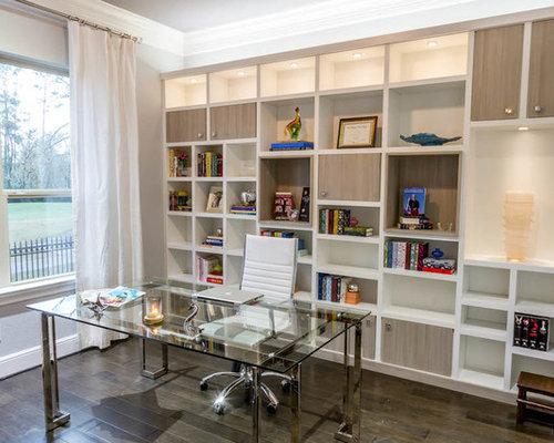 Admirable Houzz Office Wall Unit Design Ideas Remodel Pictures Largest Home Design Picture Inspirations Pitcheantrous