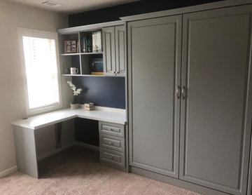 Home Office with a Murphy Bed