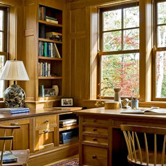 traditional home office by Smith & Vansant Architects PC