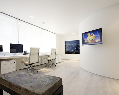 white home office photos - Home Office Design