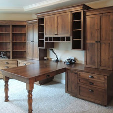 Traditional Home Office by Unique Design Cabinets