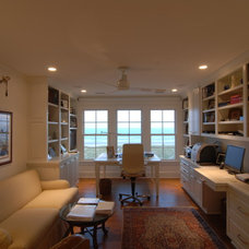 Traditional Home Office by Seamar Construction Group