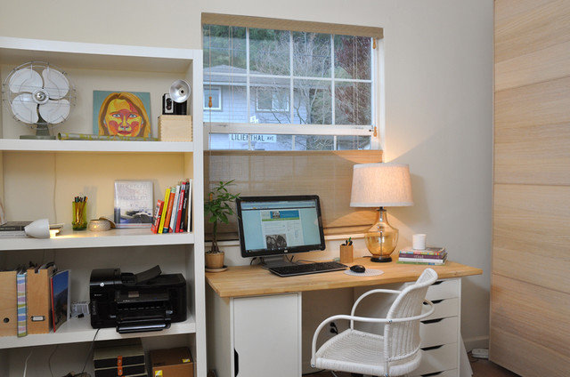 Contemporary Home Office by Inspire Your Life Style