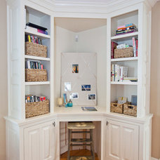 Traditional Home Office by Beth Goldfarb