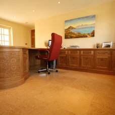 Traditional Home Office by Heaven & Stubbs Bespoke Furniture Ltd