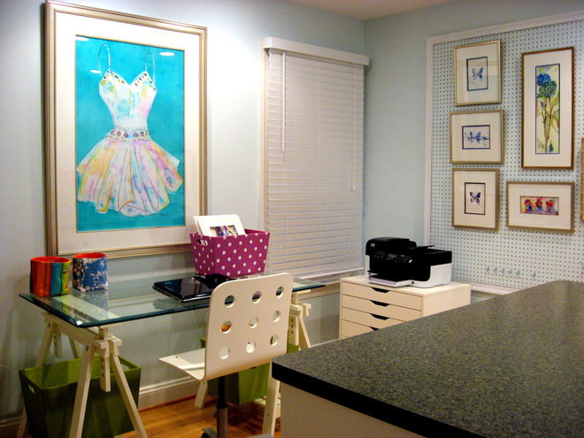 Home Office by Bright Bold and Beautiful