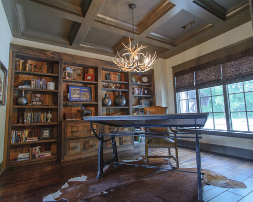 Rustic Nashville Home Office Design Ideas Remodels Photos