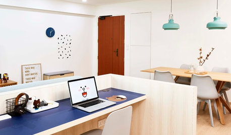 Big Ideas for Small Home Offices from 3 Apartments