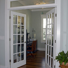 Traditional Home Office by S&W Home Builders