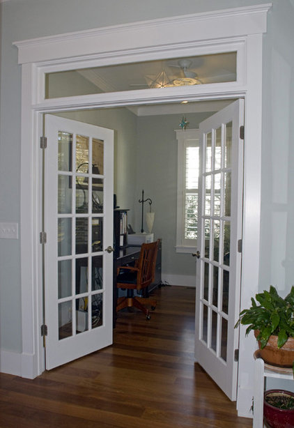 Windows above french doors for French doors without windows