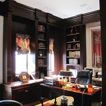 Honduran Mahogany Office
