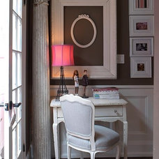 Eclectic Home Office by Flik by design