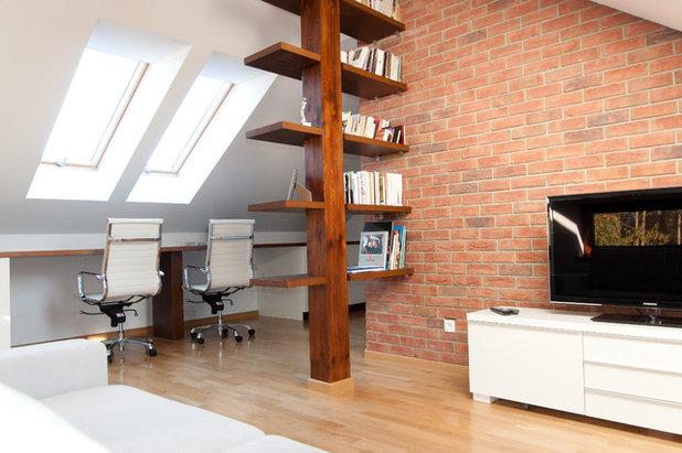15 Ideen, Wie Man Freiliegende Balken Ins Wohnkonzept Einbinden Kann