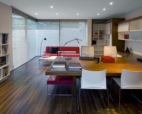 Best Big Table Home Office Design Ideas  Remodel Pictures  Houzz