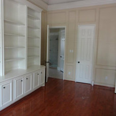 Traditional Home Office by Painting Services By Steve