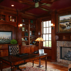 Traditional Home Office by Jamison Howard