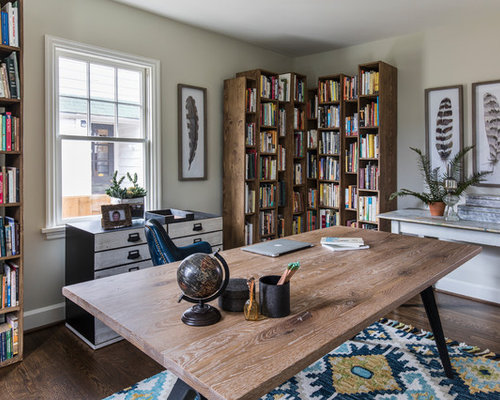 office room designs. Home Office Room Designs. - Beach Style Freestanding Desk Idea In Portland Designs