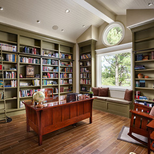75 Beautiful Craftsman Home Office Library Pictures Ideas