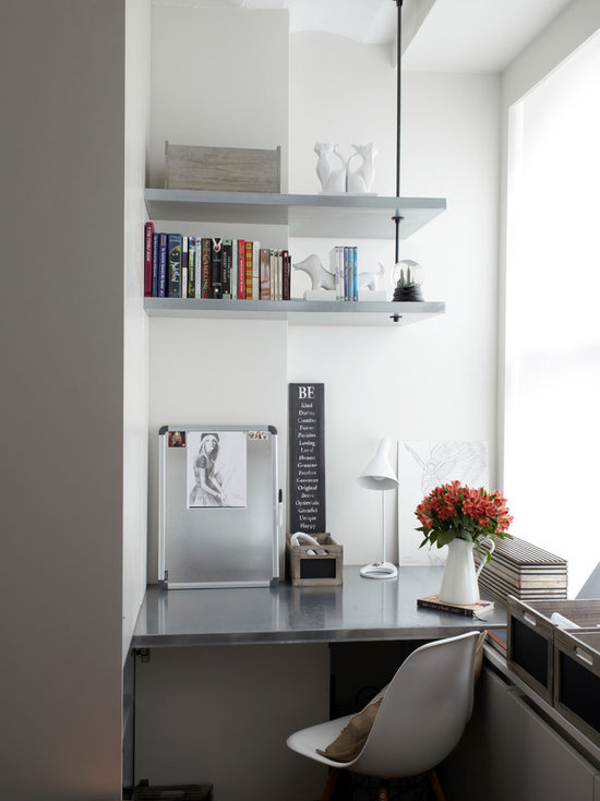 home office wall shelves | houzz