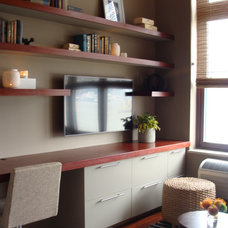 Contemporary Home Office by Threshold Goods & Design, LLC