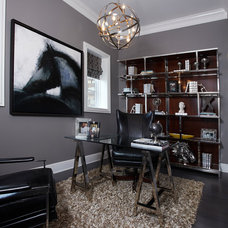 Modern Home Office by IBB Design Fine Furnishings