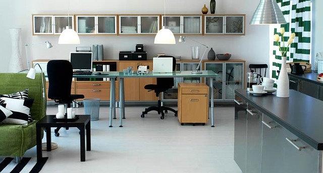 Modern Home Office by IKEA