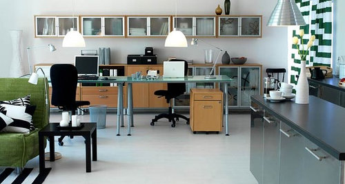 Ikea Office | Houzz