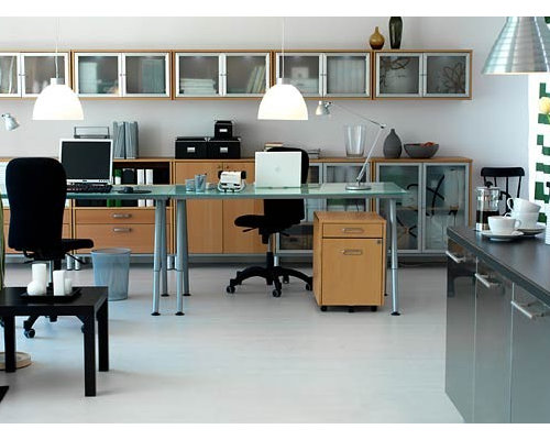 modern home office idea in other