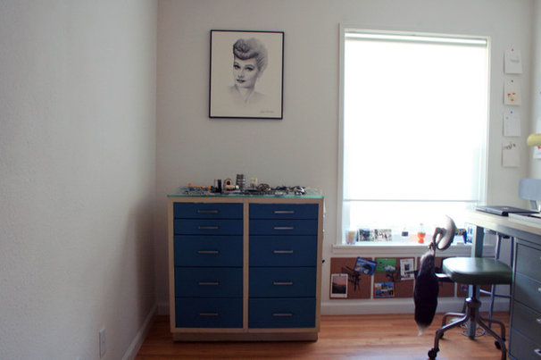 Midcentury Home Office by Katrina Guevara
