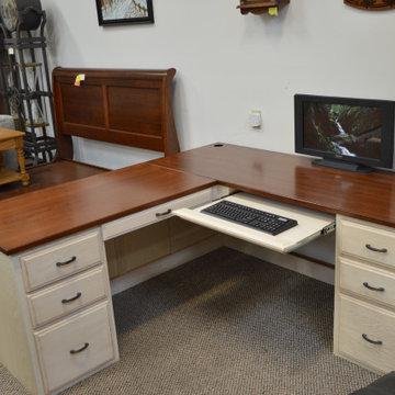 6' x 6' L desk