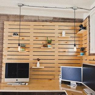 Inspiration för ett industriellt arbetsrum