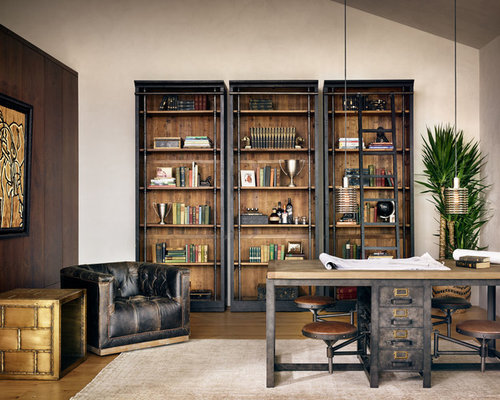 2 342 industrial home office design ideas remodel pictures houzz Industrial home office design ideas