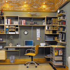 Modern Home Office by Creative Storage