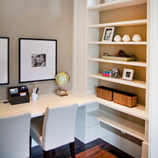 Transitional Home Office by City Core Developments