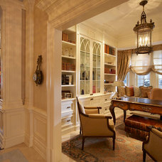 Traditional Home Office by Nazmiyal Collection