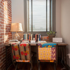 Eclectic Home Office by Jason Snyder