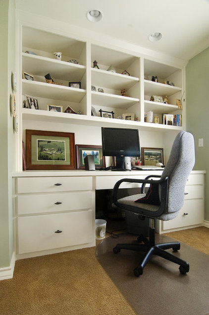 contemporary home office by Integra Construction Group