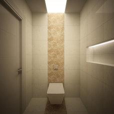 Modern Home Office by HRD mimarlık