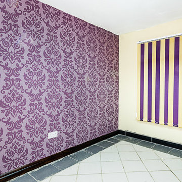 Interior decor of office space