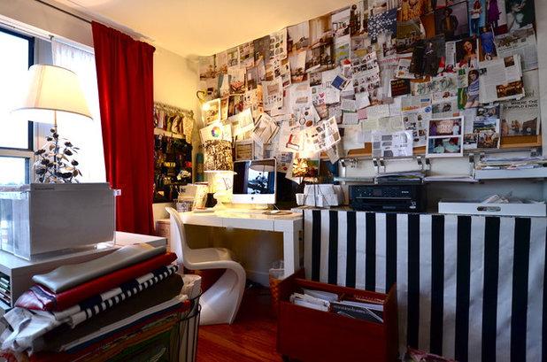 Éclectique Bureau à domicile by Nicole Lanteri Design