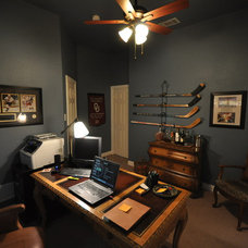 Traditional Home Office by Fresh Coat Painters of Allen McKinney Frisco Plano