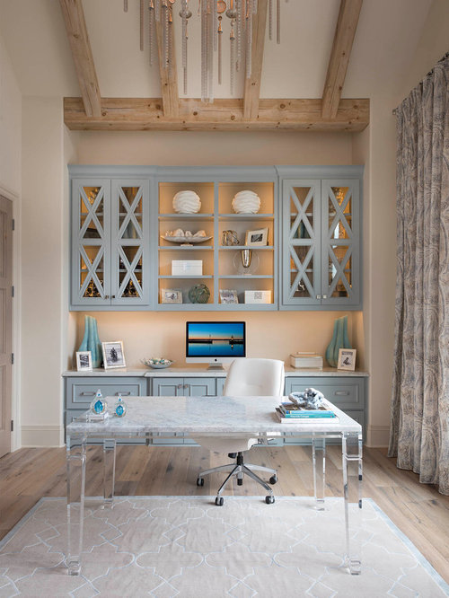 Top Home Office With Beige Walls Ideas Designs Houzz